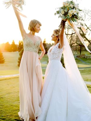 The Chicest Celebrity Bridesmaids of 2016