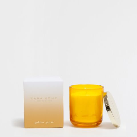 Golden Grass Scented Candle