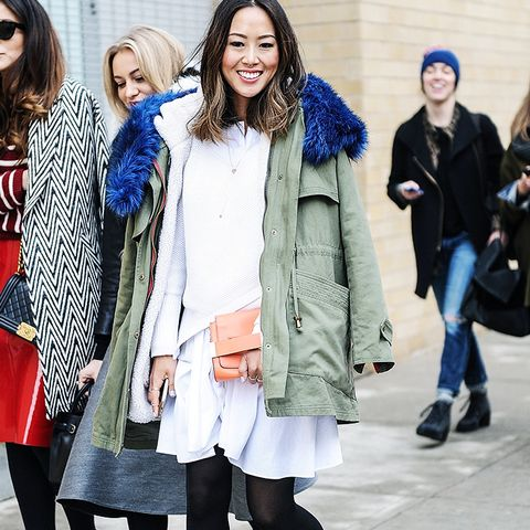 7 Outfits That Prove Parkas Are as Cool as Ever