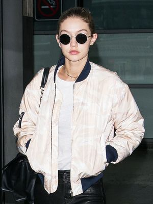 Gigi Hadid Just Flew in Jessica Alba's Favorite Travel Pants