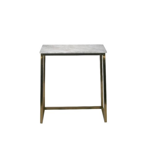 Marble and Gold Console Table