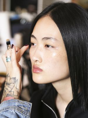 This Unexpected Foundation Tip Will Give You the Dewiest Finish