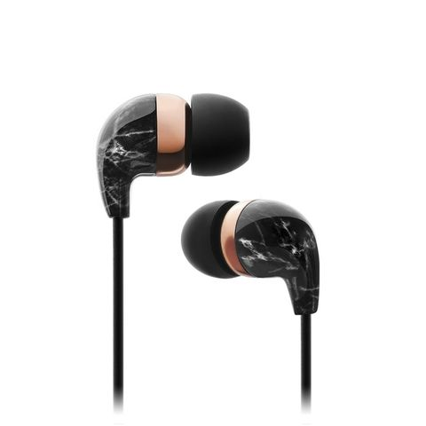Elegant In-Ear Earbuds with Remote and Mic