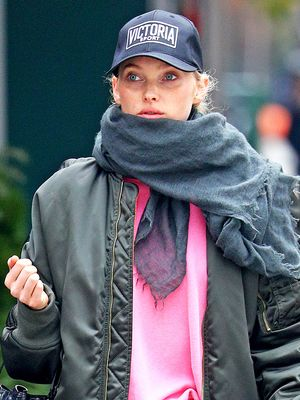 Every Fashion Girl Will Wear Her Leggings Like This for Winter