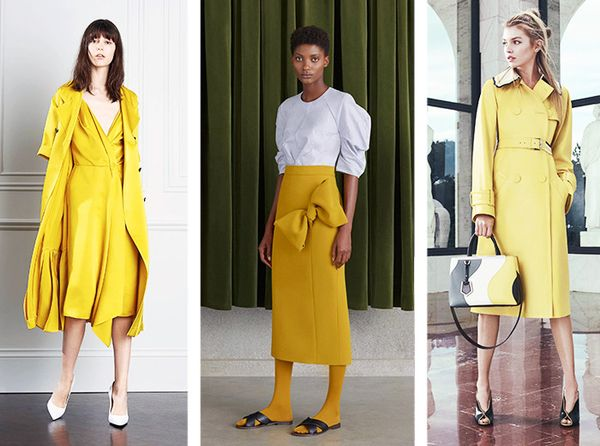 Resort 2017 Idea #2: Yellow Everything