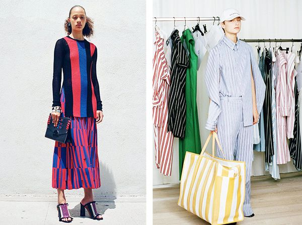 Resort 2017 Idea #4: Head-to-Toe Stripes