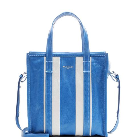 Bazar Small Striped Tote