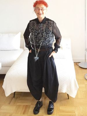 Why You Should Follow This 70-Something Style Star on Instagram