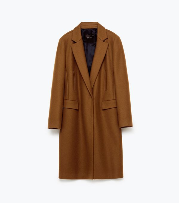 Zara Just Dropped Its Winter Coat Edit | WhoWhatWear