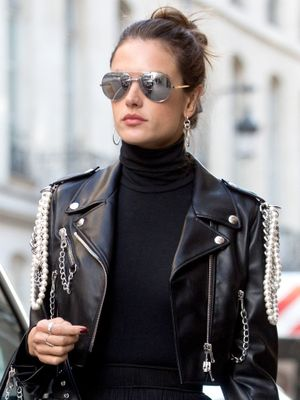 If You Hate Colour, You'll Love This Alessandra Ambrosio Look