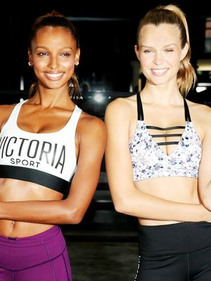 VIDEO: The Best BFF Workouts, Featuring Victoria's Secret Angels