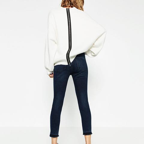 The Absolute Best Skinny Jeans at Zara | WhoWhatWear