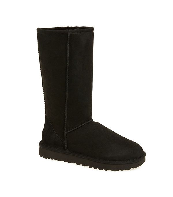 UGG classic black boots tall