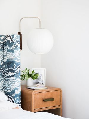Emily Henderson Shows Us How to Style a Nightstand