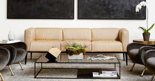 inside our striking mydomaine office in los angeles mydomaine. Black Bedroom Furniture Sets. Home Design Ideas