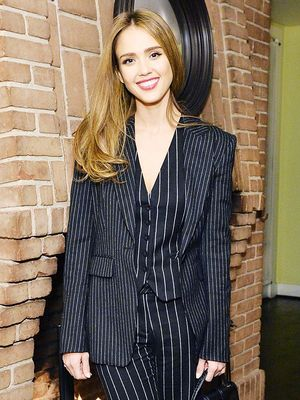 Jessica Alba Just Pulled Off a Daring Take on This Office Staple