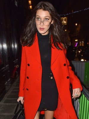 Bella Hadid Proves Grandma Glasses Aren't Going Anywhere