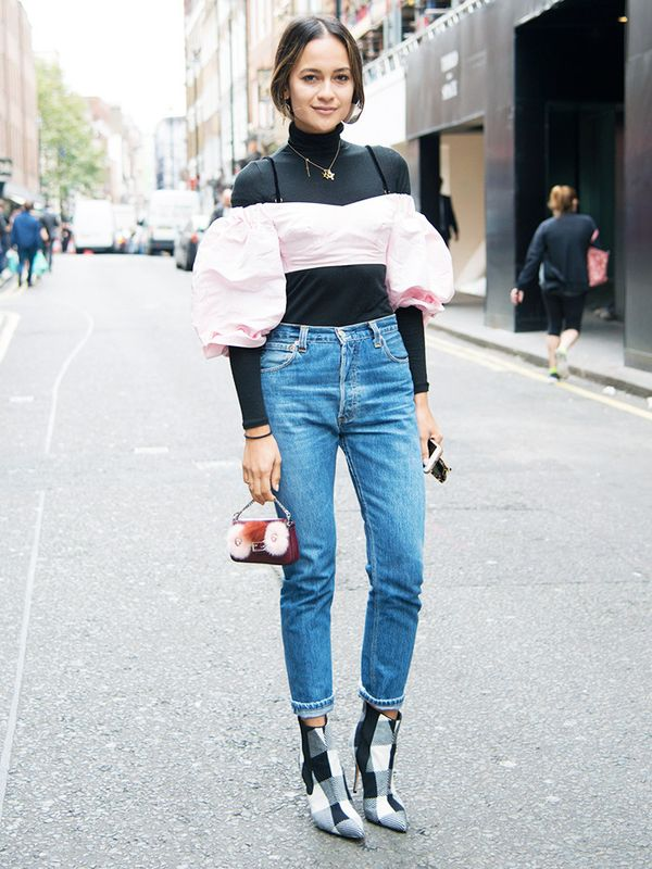 Here are ways to style and wear your high-waisted jeans
