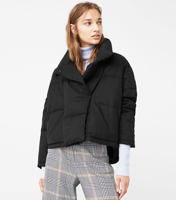 Mango Cotton Quilted Jacket