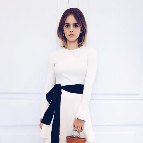 Ethical fashion Emma Watson: Simon Miller bag