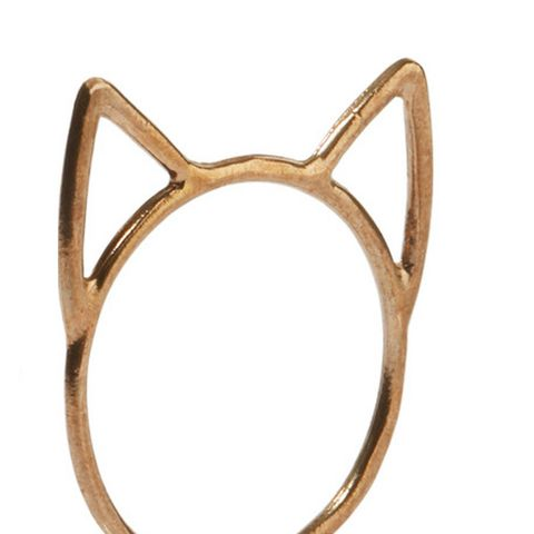 Lovecats Gold-Tone Ring