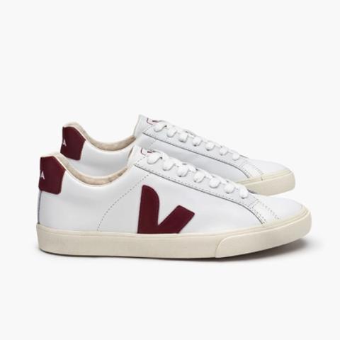 Esplar Leather White Marsala