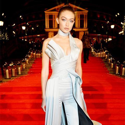 British Fashion Awards 2016 red carpet: gigi hadid