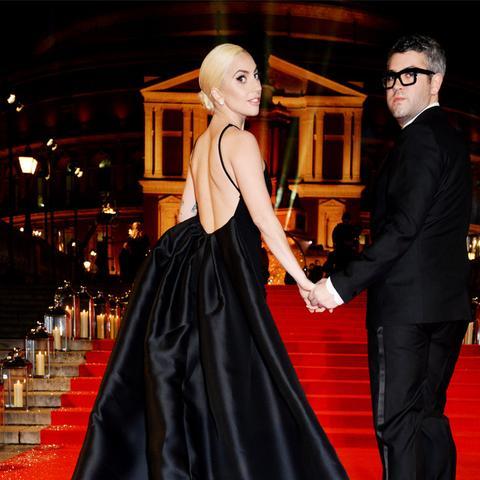 British Fashion Awards 2016 red carpet: Lady Gaga