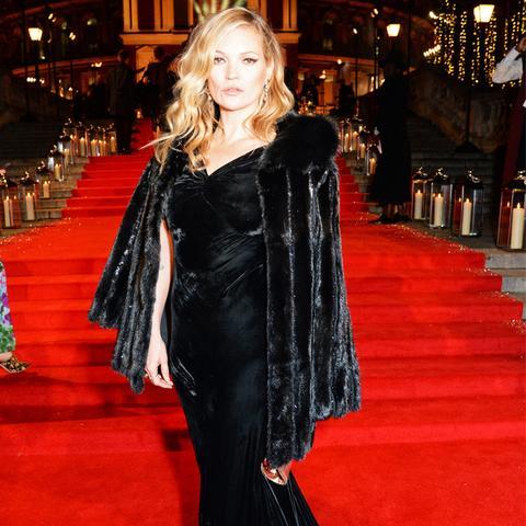 British Fashion Awards 2016 red carpet: Kate Moss