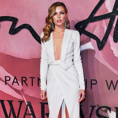 British Fashion Awards 2016 red carpet: abbey clancy