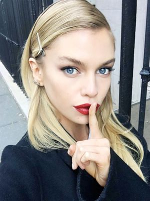 Exclusive: VS Angel Stella Maxwell Spills Her Beauty Secrets