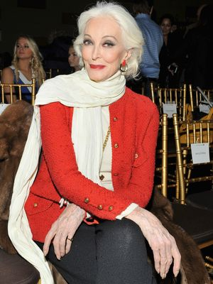 The Most Stunning Models Over Age 70