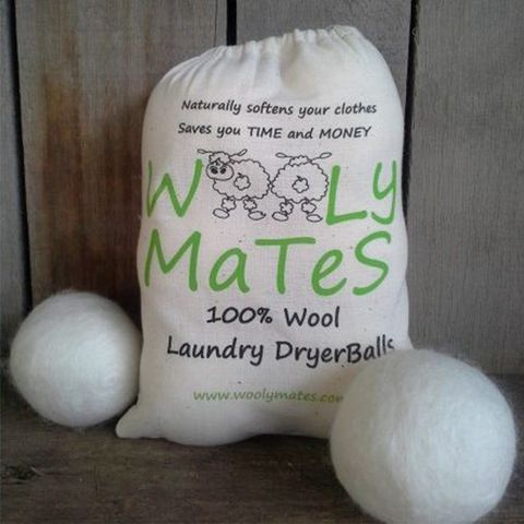 Natural Cream Wool Laundry Dryer Balls