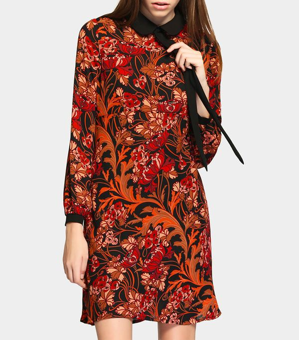 Young Formula Multicolored Floral Dress