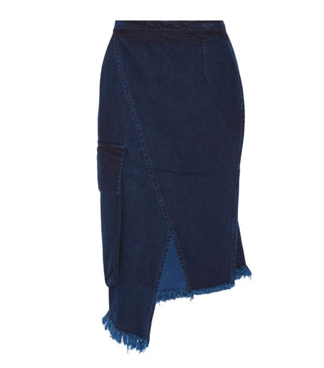 Marques' Almeida denim skirt