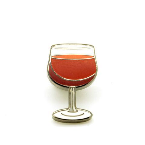 Wine Glass Pin