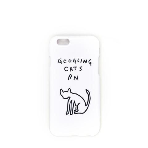 Googling Cats iPhone Case