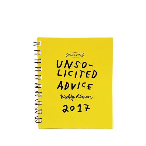 Unsolicited Advice 2017