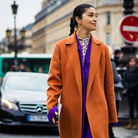 what to wear to work in winter: Caroline Issa
