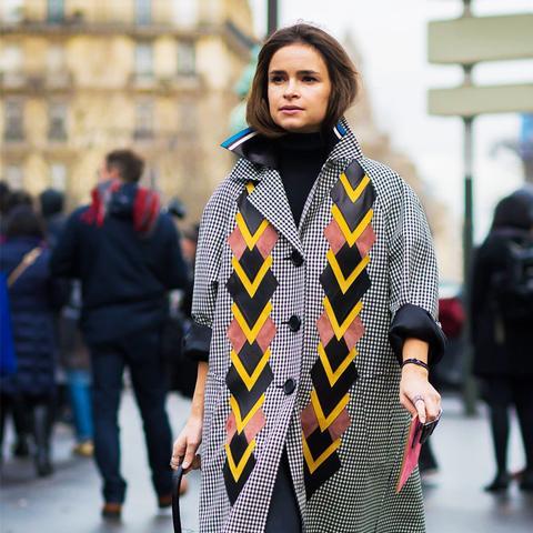 what to wear to work in winter: Miroslava Duma