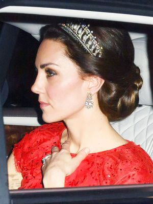 Kate Middleton Wore Princess Diana's Tiara With a Fairy-Tale Dress