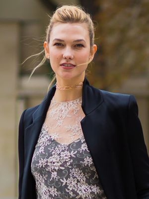 Karlie Kloss's Outfit Solves Every Workaholic's Holiday Party Problem