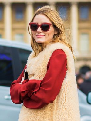 How to Be Festive When You Don't Wear Dresses, According to Olivia Palermo