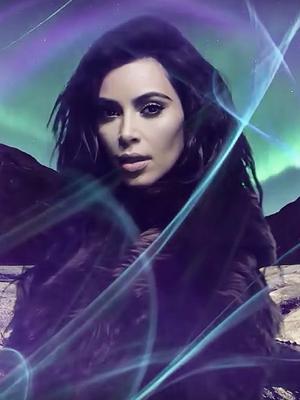 Kim Kardashian West Makes Her Return on the Love Advent Calendar