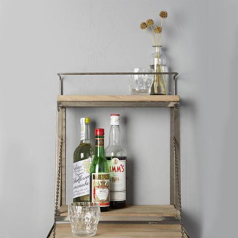 Fold-Down Bar Shelf