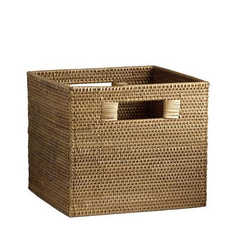 Modern Weave Storage Bin in Natural