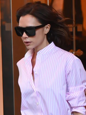 This Is a Very Rare Victoria Beckham Street Style Look