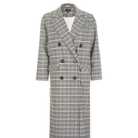 Heritage Check Double Breasted Coat