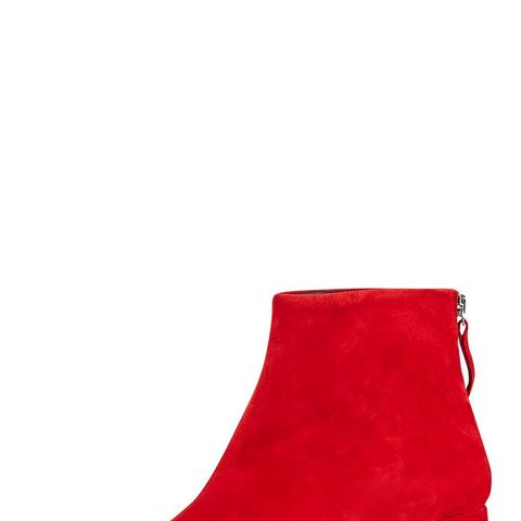 MAGGIE Flared Heel Boots