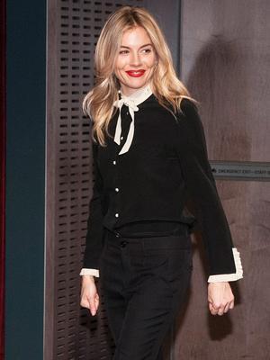 Sienna Miller's Trousers Look Simple Until You See The Hemline